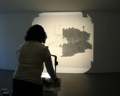 photo projector for artists