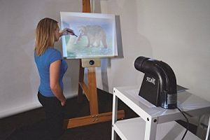 digital projector for artist